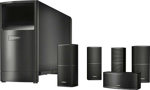 Bose - Acoustimass 10 Series V 5.1-Channel Home Theater Speaker System - Black
