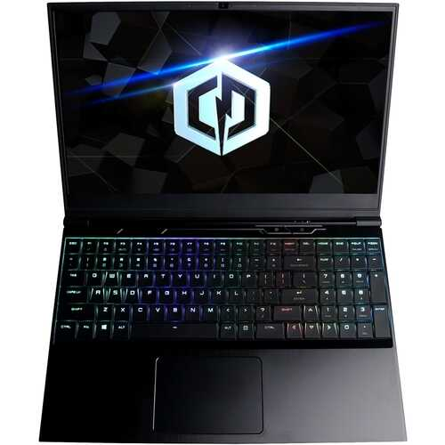 """CyberPowerPC - Tracer III 15.6"""" Gaming Laptop - Intel Core i7 - 8GB Memory - NVIDIA GeForce GTX 1660 Ti - 240GB Solid State Drive - Black"""