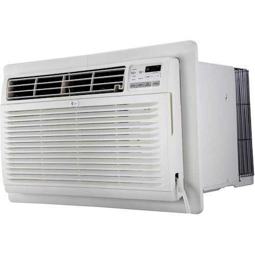 Rent to own LG - 440 Sq. Ft. Through-the-Wall Air Conditioner and 440 Sq. Ft. Heater - White