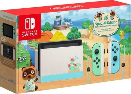 Rent-to-own Nintendo Switch - Animal Crossing: New Horizons Edition 32GB Console