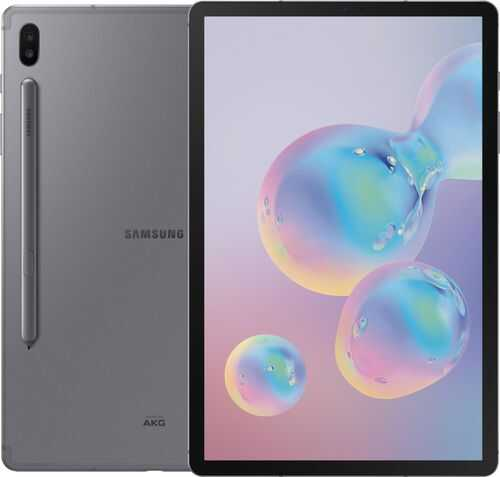 """Rent to own Samsung - Galaxy Tab S6 - 10.5"""" - 128GB - Mountain Gray"""