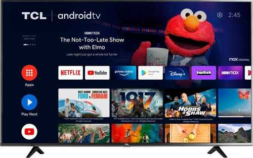 """Lease-to-own TCL 55"""" LED 4K Android TV"""